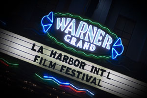 LA Harbor marquee