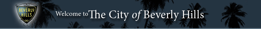 Beverly Hills library header
