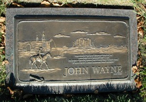 john wayne burial site