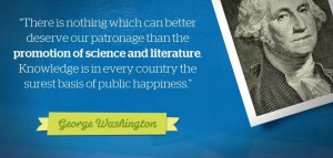 washington quote better world books