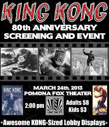 king kong screening