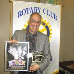 Manny at Rotary Club