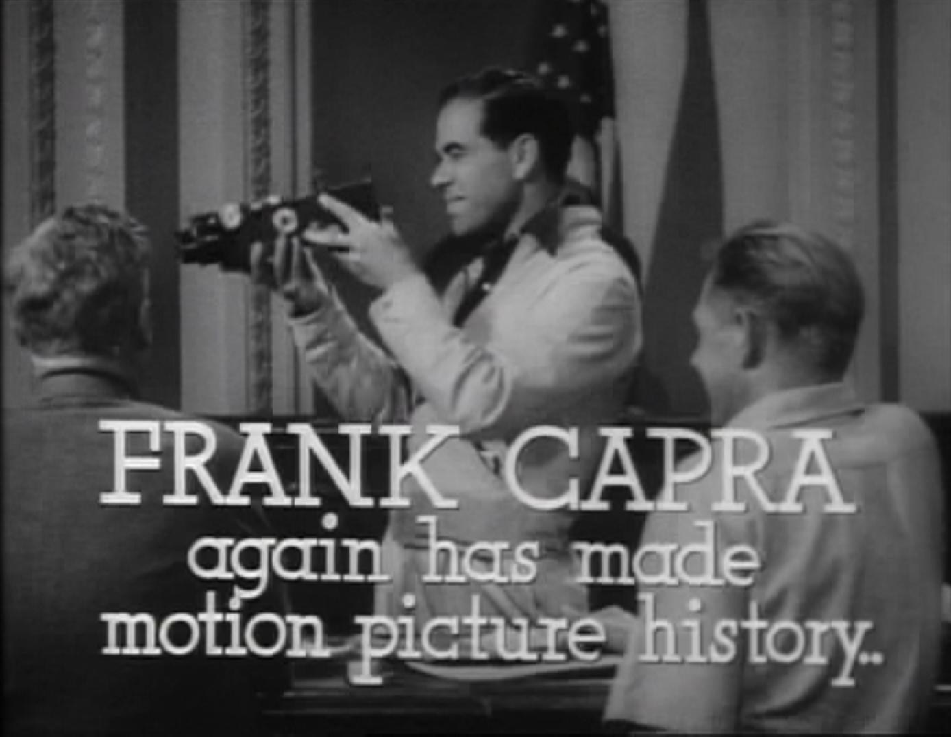 frank capra movies
