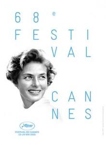 Festival du Cannes Ingrid Bergman poster