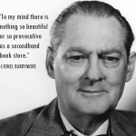 59. Lionel Barrymore and Bookstore Quote