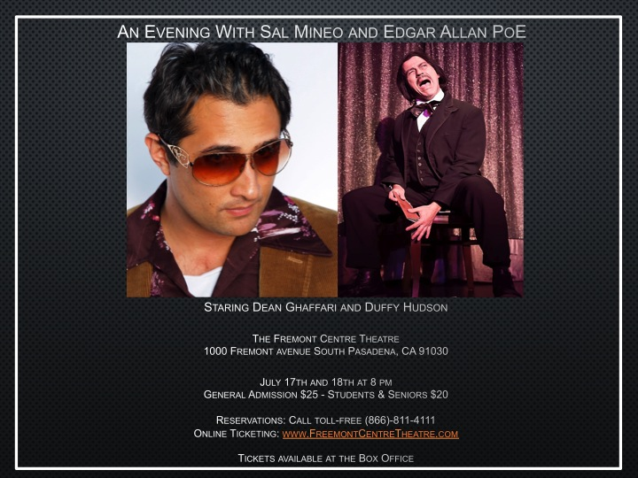 An Evening With Sal Mineo and Edgar Allan Poe JPEG