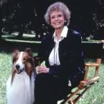 june Lockhart and Lassie