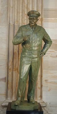 Eisenhower_bronze